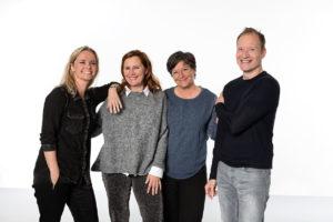 Tolketeamet - Pernille, Gitte, Bente og Mads